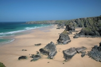 Coastal Drive and Cream Tea at Bedruthan Steps